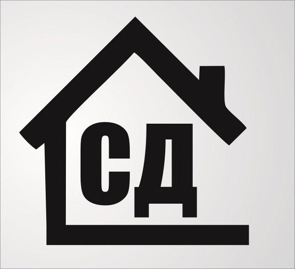Логотип компании Строительный дом