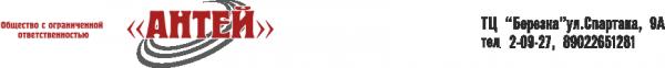 Логотип компании Антей